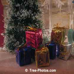 Christmas Presents Under The Christmas Tree